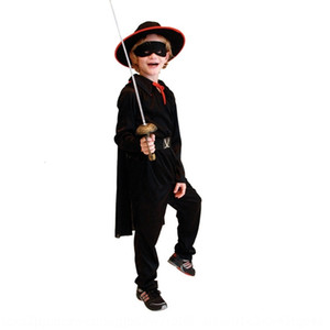 Traje W2vf9 tabla Performance Zorro enmascarado Chivalrous flash ropa Actuación Adult Clothing Traje de la mascarada t