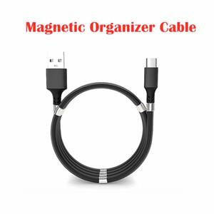 Cavo dati Android TypeC caricatore USB Type-C magnetico Organizzatore Micro-Usb Plug V8 5V 2.4A