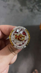 LAST DESIGN MODE SPORT SCHMUCK 2020 Kansas City Football RING RING CHAMPIONSHIP FANS ANDENKEN GIFT US-GRÖSSE 9-13 #