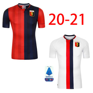 20 21 Genoa Cricket Football Jersey 2020 Pinamonti KOUAME Football Uniforme PANDEV SCHONE RADOVANOVIC Maillot de football Garçons Maillots