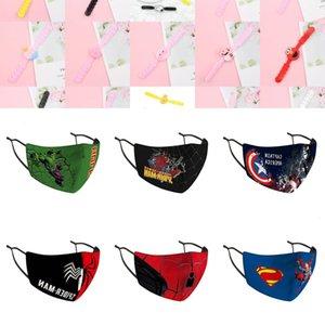 QWC8 Designer Escudo Crianças máscara máscaras equitação Frio Protecção dos desenhos animados Rosto Algodão ablID myhome001
