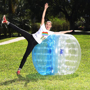Free Shipping 1.5m Inflatable Zorb Ball Bubble Soccer Ball Air Bumper Ball Bubble Football For Adults