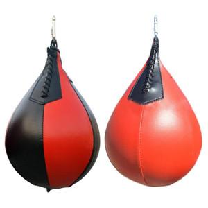Ball Fitness Boxen Training Ball Punching Speedball Geschwindigkeit Birnen-Form-Tasche Swivel