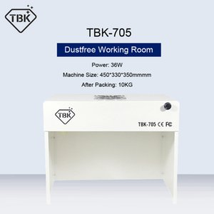 TBK-705 Mini Dustfree Working Room Cleaning Dust-Free Working Room Bench Table Phone Motherboard Repair Anti-Dust Free