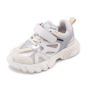 Transpirable bebé antipatinaje Mesh Zapatos casual inferior suave Niños Velcro zapatillas de tenis Zapatilla Niños Be50sh