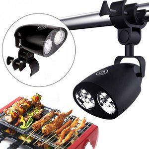 Waterproof Outdoor BBQ Grill Light 10LED Tent Waterproof Lamp Barbecue Handle Mount Clip Super Light For Night Camping Fishing