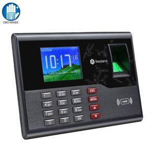 TCP / IP 2.8inch USB Biometric Time Sistema de Atendimento RFID Fingerprint Reader Employee Check-in Time Clock Registro Máquina A-C121