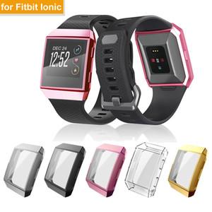 Все вокруг экрана Защитный чехол для Fitbit Ионные Смарт Часы Tpu Покрытие экрана протектор Закаленное 3D Full Cover