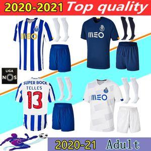 Camisa do porto 2020 camisa de futebol Alex Telles camisa de futebol BRAHIMI Shoya DANILO Infantil Casa Fora uniforme OTAVIO AUGUSTO FELIPE