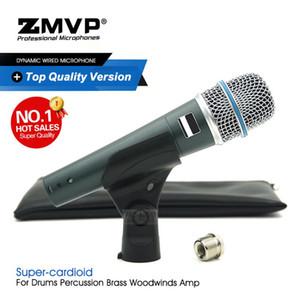 Ordnen Sie ein hochwertiges professionelles dynamisches Instrumentenmikrofon BETA57A Superniere BETA57 Wired Mic für Live Stage