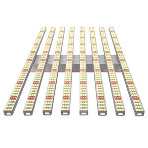 Cgjxs crece luces más nuevo producto impermeable invernadero hidropónico Full Spectrum 8 Bares 600w Samsung 2835 660nm llevados crecen ligeros para las zona cubierta
