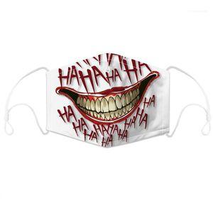 PM2.5 Normal Life Mouth Masks with Filter Chip Children Adults Designer 3D Print Face Masks Dustproof and