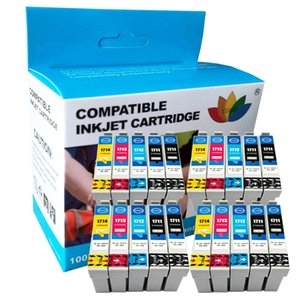 Printer ink cartridge for Compattible inks XP-103 XP-203 XP-207 XP-33 XP-303 XP-306 XP-313 XP-403 XP-406 XP-413 17XL T1711