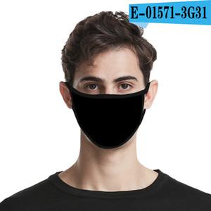 máscaras de algodón imagen DIY personalizado logotipo de adulto Máscara cabrito cara Boca protección de la punta de la moda reutilizables lavables máscaras anti-polvo a prueba de polvo en stock