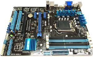 IO BP ile desteklenen Z77-Bir Masaüstü Anakart için ASUS, Intel Z77 LGA 1155 LGA1155 S1155 ATX Anakartlar AMD Quad-GPU CrossFireX