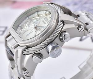 Новый Invicta Лучший Продажа Из-за Vichta серии клоуна Мужчины Лучшие Часы TRITNITE Светящиеся хронограф часы