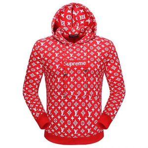 Hot Sale Herrenbekleidung Hoodie Leichte Fleece-Sweatshirt Mode-Druck Hoodies 6 Farbe Street Style Herren Sportswear