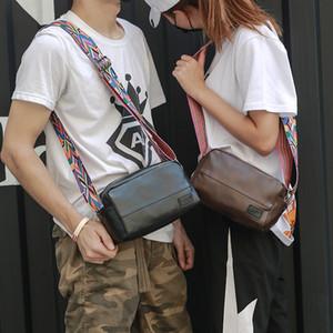 Hot Sale Men High Quality Pu Leather Messenger Bags Handbag Mens Travel Bags Small Crossbod Single Shoulder Bags