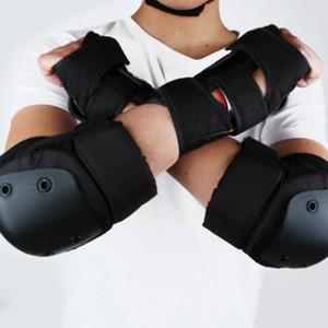 6pcs Cotovelo Guarda rótula adultos patinar proteção contra quedas Outdoor Sports Skate Protetores