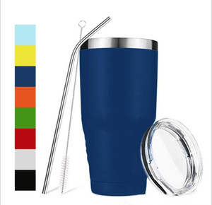 36 30 20 12 10 oz Cup Stainless Steel Tumblers 12oz kids bottle 36oz 30oz 20oz 10oz Large Capacity Sports Mugs Wine Beer Travel Egg Cups