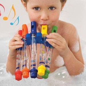 5Pcs set Kids Children Water Flutes Bath Toy Plastic Fun Music Sound Education Toys Boy Girls Tub Tunes Toy