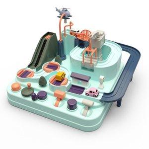 Fête Favoris Favoris Favoris Cadeau Cadeau Jouet Eco-sympa bébé Enfants Aventure Voiture Macaron Color Table Table Jeux Boy and Girl Puzzle jouets 2021