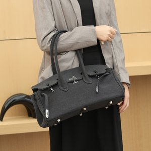 Leather Popular Fashion Handbags New Pouch Colors Vintage Shoulder Luxury Crossbody Women Ladies Padlock Bags Designer 3 For Tqqwr