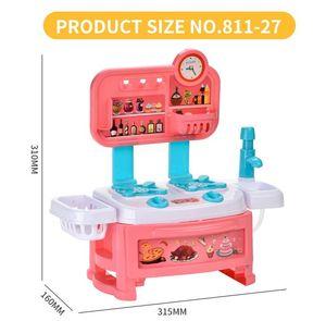 Soba Set Mini Oyuncak Play Pretend Piewing House Bulmaca Sofra Mutfak Simülasyonu Hediyeler Ev Oyun Oyuncak Oyuncaklar Kız Şef Sodvt