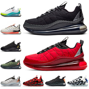 Air Max 720-818 Stock x Black Magma University Red Hombres Zapatillas de running para mujer Sail Orange Metallic Copper 720 Trainers Sneakers