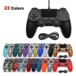 PS4 için Bluetooth 4.0 denetleyici Playstation 4 için 4 kontrolör kablosuz oyun tahtası joystick DUALSHOCK