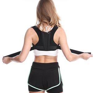 Adulto ombro Correção Belt postura sentada Spine respirável Anti-cifose Órtese Brace Bandage Dor Alívio