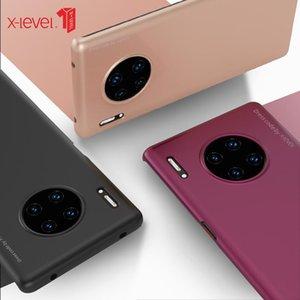 Pour Huawei Minimaliste 30 Maté X niveau mince de protection PC Capa Huawei Pro Retour Maté mince couverture pour Minimaliste Case 30 dur mat CtjxIqqddFN