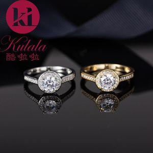 Designer luxury zirconia engagement ring square geometry engagement ring romantic woman wedding ring birthday present