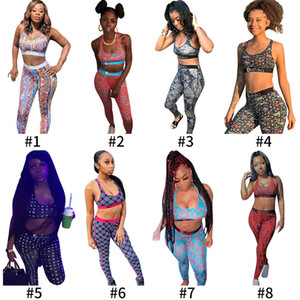 Ethika Frauen Designer-Badeanzug Anzug Crop Top Weste + Swim Hose Trunks Boxers 2-teiliges Set Patchwork Shark Camo Bademode P358