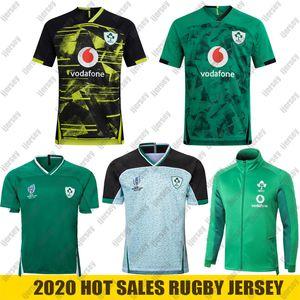 20 21 Camisas de rugby da Irlanda Copa do Mundo 2019 Seleção nacional da Irlanda de rugby Jaqueta de rúgbi em casa Colete POLO S-5XL