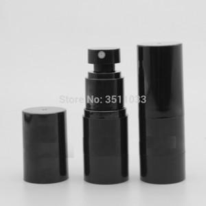 NEW 15ML черный цвет безвоздушного спрей бутылки Пустой Косметическая жидкость спрей Refillable Упаковка бутылки Mist Сопло контейнер