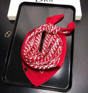 2020 sciarpe sciarpa sciarpe di seta per capelli sensazione ufficio marchio piazza Stampa Hotel Cameriere assistenti di volo della sciarpa 50 ~ 50CM
