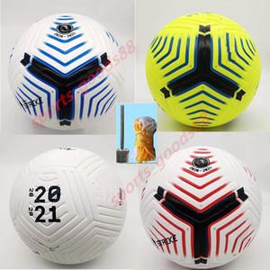 Liga del Club 5 balones de fútbol 2020 2021 Tamaño de la bola 5 de alto grado de coincidencia agradable liga Premer Finales 20 21 pelotas de fútbol (enviar las bolas sin aire)