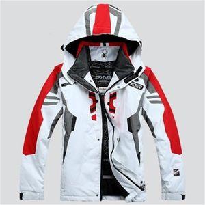 Erkek Kayak Ceket Örümcek Kayak Ceket erkek Su Geçirmez Sıcak Rüzgar Geçirmez Nefes Su Geçirmez Snowboard Ceket Jaqueta De Snowboard LJ2000915