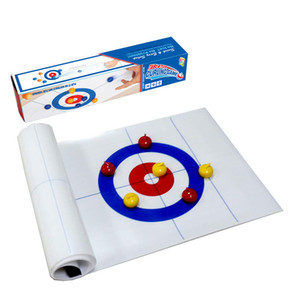 Table Curling Ball Bowling Indoor Leisure Toys Children's Educational Board Game Toys
