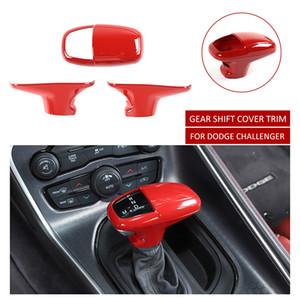 Red ABS Auto-Gangschaltung-Abdeckungs-Ordnung für Dodge Charger / Challenger 15 Jahre + / Durango 18 Jahre +