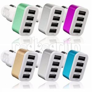 4 개 개의 USB 포트 5V 4A 자동차 충전기 USB 어댑터 충전기 전원 소켓 아이폰 삼성 S8 S10 HTC는 PC를 GPS를