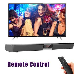 SR100 Светодиодный дисплей TV Sound Bar Проводной и беспроводной Bluetooth Home Surround SoundBar для PC Theater Speaker Настенный сабвуфер