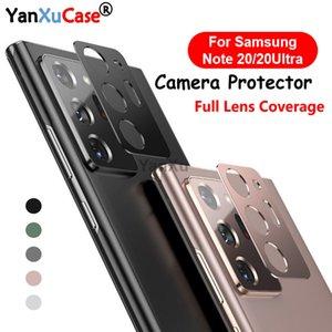 Yeni Geliş Arka Kamera Lens Koruyucu Metal Halka Kılıf için Samsung Galaxy Note 20 Ultra Mercek Film Ekran Koruyucu On Galaxy Note 20