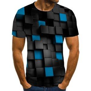 New Three-Dimensional Horror Comics Vortex 3D-Druck Shirts Graphic Männer Kleidung