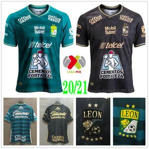 2020 2021 Clube Leon Futebol MACIAS RAMOS W.TESILLO Anjo M. CAMPBELL personalizada 20 21 Liga MX Casa Fora Football Shirt Uniforme