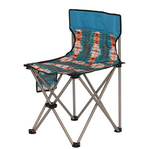 Outdoor folding chair portable Oxford cloth balcony lunch break camping self driving swimming beach leisure chair BN2