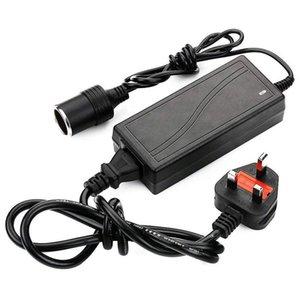UK plug Power Supply Cigarette Lighter Socket AC to DC Adapter 110V-240V to 12V 5A Car Power Charger Converter