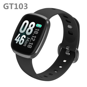 GT103 Bluetooth Smart Watch 1.3 inch IPS Full Touch Screen Fitness Tracker Heart Rate Sports Smart Bracelet Wristband For iPhone 11 Xiaomi