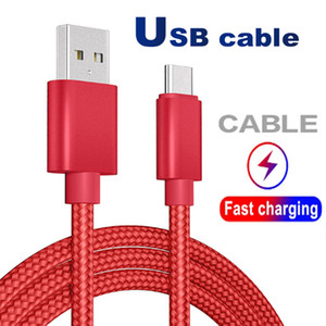 Кабель USB Type C кабель Адаптер синхронизации данных Металл зарядки телефон адаптер Толщина Strong Плетеный микро кабель USB